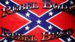 REBEL BORN REBEL BRED (CONFEDERATE) - 5 X 3 FLAG